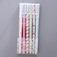 abordables -Gel Pen Stylo Stylos gel Stylo,Plastique Multicolore Couleurs d'encre For Fournitures scolaires Fournitures de bureau Paquet 6