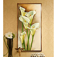 cheap Framed Arts-Framed Set Abstract Illustration Wall Art, Wood Material With Frame Home Decoration Frame Art Office