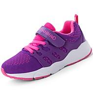 baratos Sapatos de Menina-Para Meninas Sapatos Tricô / Materiais Customizados Verão Conforto Tênis Corrida / Atletismo / Caminhada Cadarço / Colchete para Azul /