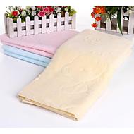 tanie Ręcznik kąpielowy-Świeży styl Ręcznik kąpielowy, Solid Color Najwyższa jakość Czysta bawełna Plain 100% Cotton Ręcznik