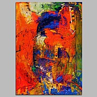 levne Zlevněné obrazy-Hang-malované olejomalba Ručně malované - Abstraktní Současný styl Plátno