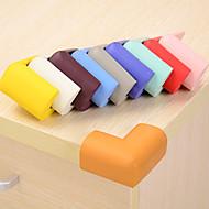 billige Bordduker-Professjonell / Solid Microfiber Sponge Kvadrat Hjørne Støtfangere Borddekorasjoner 4 pcs