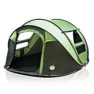 5 person Telt til trekking Dobbelt Lagdelt Automatisk Kuppel camping telt Udendørs for Camping / Rejse 2000-3000 mm 200*280*120 cm