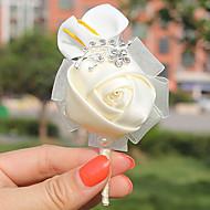 Brudebuketter Rose I Revers Bryllup Fest Satin 2.76 tommer (ca. 7cm)