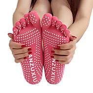 Χαμηλού Κόστους -Γυναικεία Κάλτσες Φοριέται, Αναπνέει, Αντιολισθητικό Για Γιόγκα / Πιλάτες - 1 Pair Άνοιξη / Καλοκαίρι / Φθινόπωρο
