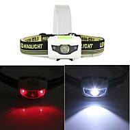 billige Sykkellykter og reflekser-Fleksible LED-lysstriper LED Sykling LED-belysning 1200 Lumens Hvit Rød Camping/Vandring/Grotte Udforskning Sykling Fisking