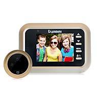 billige Dørtelefonssystem med video-denimini w8 2,4 tommers kamera video elektronisk kattens øye dørklokke forstyrrer ikke overvåking kamera video og andre funksjoner