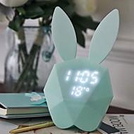 billiga Belysning-1st LED Night Light Kall vit Inbyggd Li-batteridriven Uppladdningsbar Touch Sensor Med USB-port