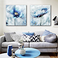 Stretched Canvas Prints Modern, Two Panels Canvas Square Print Wall Decor  Home Decoration
