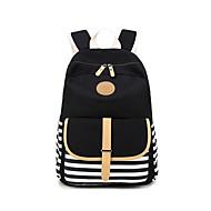 Χαμηλού Κόστους Intermediate School Bags-Γυναικεία Τσάντες Καραβόπανο σακκίδιο Φερμουάρ για Causal ΕΞΩΤΕΡΙΚΟΥ ΧΩΡΟΥ Όλες οι εποχές Πράσινο του τριφυλλιού Μαύρο Ρουμπίνι Ανθισμένο