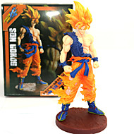 Anime Akcijske figure Inspirirana Dragon Ball Son Goku PVC 21 CM Model Igračke Doll igračkama