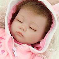 voordelige Speeltjes-NPK DOLL Reborn-poppen Baby meisjes 18 inch(es) Siliconen Vinyl - levensecht Schattig Handgemaakt Kindveilig Non Toxic Simulatie voor kinderen Meisjes Speeltjes Geschenk / Ouder-kind interactie / CE