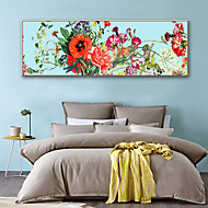 cheap Prints-Botanical Floral/Botanical Illustration Wall Art,Plastic Material With Frame For Home Decoration Frame Art Living Room
