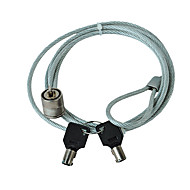 billige Tastelåser-laptop lås datamaskin innbruddstast lås wire med 120cm kabel