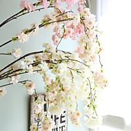 cheap -Artificial Flowers 1 Branch Wedding / European Style Sakura Wall Flower