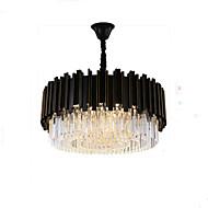 billige Takbelysning og vifter-QIHengZhaoMing 8-Light Anheng Lys Omgivelseslys Malte Finishes Metall Krystall, Øyebeskyttelse 110-120V / 220-240V Pære Inkludert