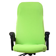 Χαμηλού Κόστους -Σύγχρονο 100% Πολυέστερ Ζακάρ Κάλυμμα καρέκλας, Απλός Μονόχρωμο Εκτύπωση Βαφής slipcovers