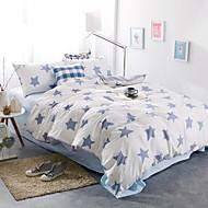 billige Moderne dynetrekk-Sengesett Moderne Polyester / Bomull Reaktivt Trykk 3 deler