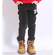 Copii Băieți Simplu Zilnic Geometric Stil Clasic Poliester Pantaloni Gri Închis