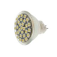 billige Spotlys med LED-SENCART 1pc 2W 140-180 lm MR11 LED-spotpærer MR11 30 leds SMD 3528 Dekorativ Varm hvit Kjølig hvit Gul DC 12V