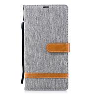 billiga Mobil cases & Skärmskydd-fodral Till Sony Xperia XA2 Ultra / Xperia L2 Plånbok / Korthållare / med stativ Fodral Ensfärgat Hårt PU läder för Xperia XA2 Ultra / Xperia XA2 / Xperia XZ1 Compact