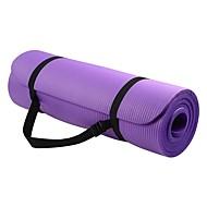 Yoga Mat 183*61*1 cm Geurvrij, Milieuvriendelijk, Kleverig, Non Toxic Kumi waterdicht, Sneldrogend, Antislip Voor Yoga / Pilates / Bikram yoga Blauw, Pinky, Paars