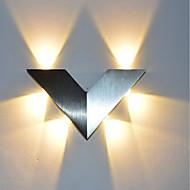 baratos Arandelas de Parede-OYLYW Estilo Mini Simples / LED / Moderno / Contemporâneo Luminárias de parede Sala de Estar / Quarto / Interior Alumínio Luz de parede 85-265V 1 W / Led Integrado