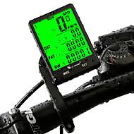 billige Sykkelcomputere og -elektronikk-WEST BIKING® Sykkelcomputer Stopur Vanntett bakgrunnsbelysning LCD Speedometer Tredet SPD - Gjeldende Fart Trippteller Multifunksjonell