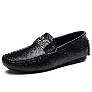 billige Sko i Store Størrelser-Herre sko Semsket lær Vinter Kampstøvler Støvler til Avslappet utendørs Hvit Svart Grønn Blå Lysebrun