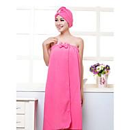 tanie Zestaw ręczników kąpielowych-Świeży styl Set Bath Towel, Jendolity kolor Najwyższa jakość Syntetyczne Poliester Blend Ręcznik