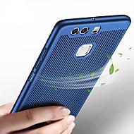 billiga Mobil cases & Skärmskydd-fodral Till Huawei P10 Lite P10 Ultratunt Skal Ensfärgat Hårt Plast för P10 Plus P10 Lite P10 Huawei P9 Plus Huawei P9 Huawei P8 Lite