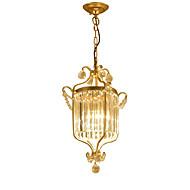 baratos -LightMyself™ Luzes Pingente Luz Ambiente - Cristal, 110-120V / 220-240V Lâmpada Não Incluída / 5-10㎡ / E12 / E14