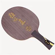 baratos Tenis de Mesa-DHS® Hurricane King FL Ping Pang/Tabela raquetes de tênis De madeira Fibra de carbono Borracha Cabo Comprido Espinhas