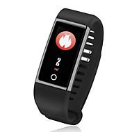 tanie Inteligentne zegarki-Waterproof Inteligentny zegarek Inteligentne Bransoletka Spalone kalorie Krokomierze Kontrola APP Anti-lost Pomiar ciśnienia krwi Pulse