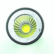 billige Spotlys med LED-1pc 5.5W 6.5W 600lm GU10 LED-spotpærer 1 LED perler COB Varm hvit Kjølig hvit 220-240V
