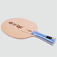 tanie Tenis stołowy-DHS® Hurricane LONG5 FL Rakietki do ping ponga / tenisa stołowego Zdatny do noszenia / Trwały Drewniany / Włókno węglowe 1