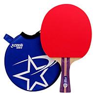 tanie Tenis stołowy-DHS® R1002 R1003 FL Ping Pang/Rakiety tenis stołowy Gumowy 1 gwiazdka Długi uchwyt Pryszcze
