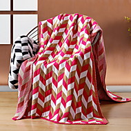 cheap Blankets & Throws-Other Accessories, Reactive Print Geometric Cotton Blankets