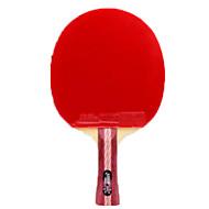 baratos Tenis de Mesa-DHS® R4002-R4003 Ping Pang / Tabela raquetes de tênis Madeira / Borracha 4 Estrelas Espinhas / Cabo Comprido Espinhas / Cabo Comprido