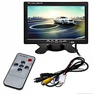 billiga Parkeringskamera för bil-ZIQIAO 7 inch TFT-LCD Kabel Car Reversing Monitor Multifunktionell display för Bilar