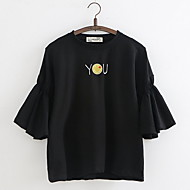 Dame - Geometrisk T-shirt