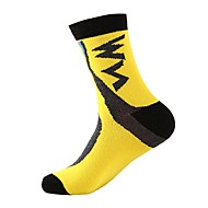 Sportovní ponožky Ponožky Kolo / Cyklistika Ponožky Unisex Prodyšnost 1 Pair Jaro. Podzim. Zima. Léto Barvená příze Bavlna
