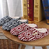 cheap Slippers-Geometric Pattern Slippers Women's Slippers Polyester Terylene Animal Print