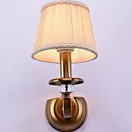 baratos Luzes para Espelho-Cristal / Regulável Rústico / Campestre Luminárias de parede / Iluminação do banheiro Sala de Estar / Quarto / Banheiro Metal Luz de