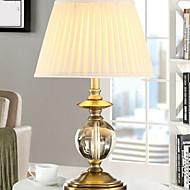 billige Lamper-Rustikk/ Hytte Krystall Bordlampe Til Metall 220-240V