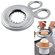 billige Eggeverktøy-kjøkken Verktøy Rustfritt Stål Multifunktion / Kreativ Kjøkken Gadget / Bursdag Skjære Verktøy for Egg 1pc