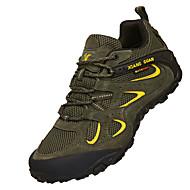 baratos Sapatos Masculinos-Homens Camurça Primavera / Outono Conforto Tênis Aventura Preto / Café / Verde