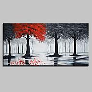 baratos -Pintura a Óleo Pintados à mão - Paisagem Arte Pop Modern Tela de pintura