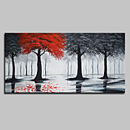 Oil Painting Hand Painted   Landscape Pop Art Modern Canvas