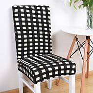 billige Overtrekk-Moderne 100% Polyester Mønstret Stoltrekk, Enkel Stripet Pigment Tryk slipcovere